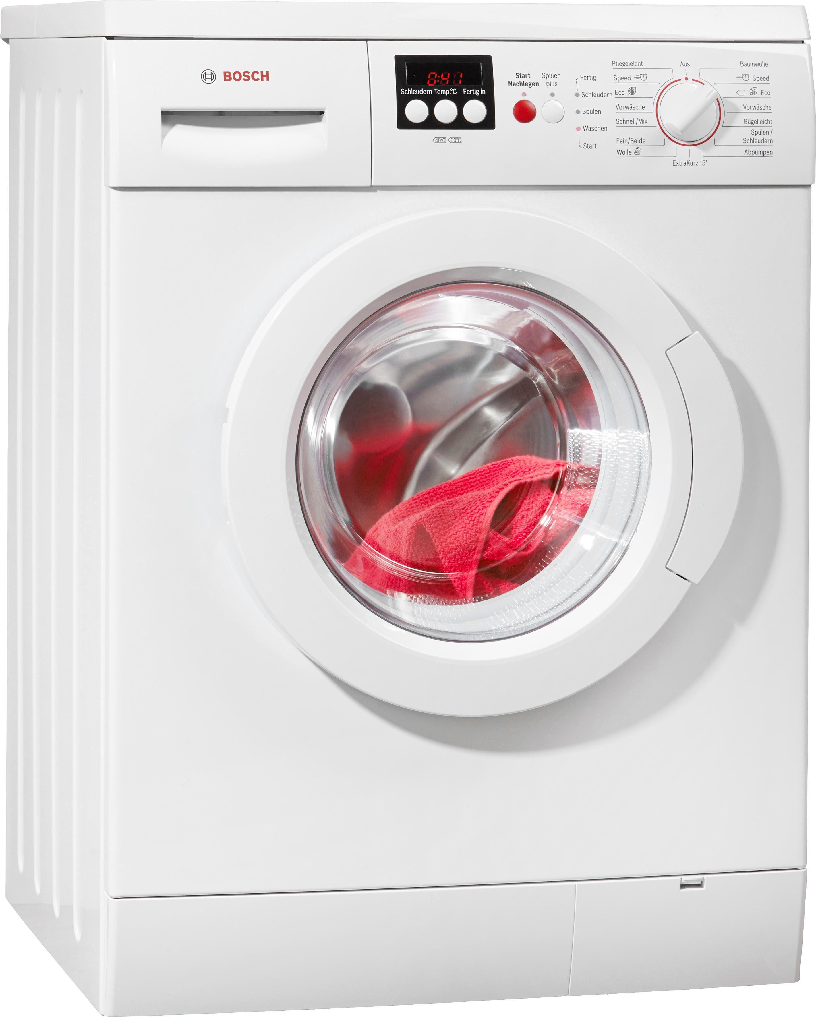 BOSCH Waschmaschine Serie 4 WAE282V7, A+++, 7 kg, 1400 U/Min