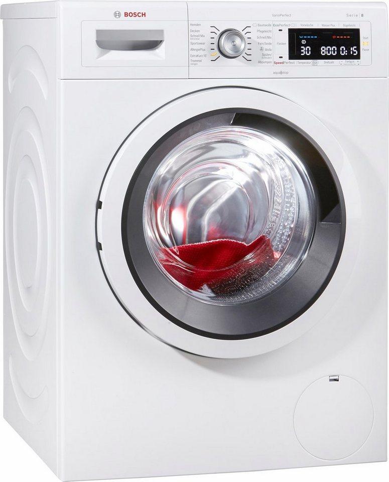 BOSCH Waschmaschine WAW285V1, A+++, 9 kg, 1400 U/Min in weiß