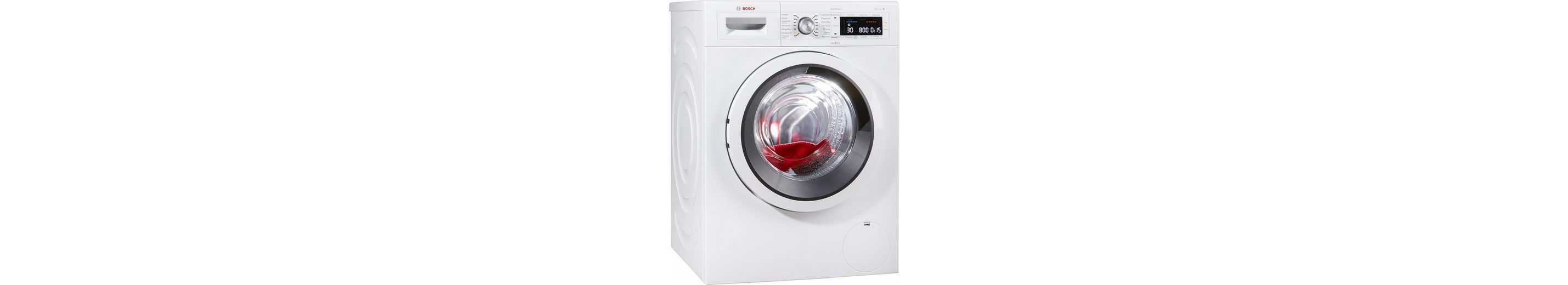 BOSCH Waschmaschine WAW285V1, A+++, 9 kg, 1400 U/Min