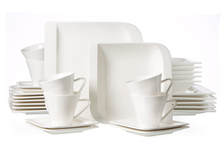 Ritzenhoff & Breker Kombiservice, Porzellan, 30 Teile für 6 Personen, »Levanto«