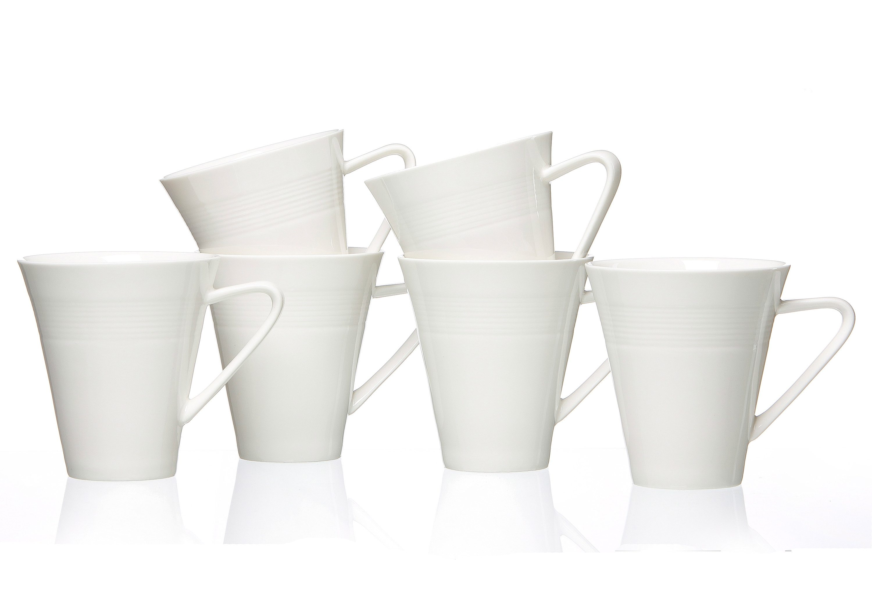 Ritzenhoff & Breker Kaffeebecher, Porzellan, »Levanto« (6 Stck.)