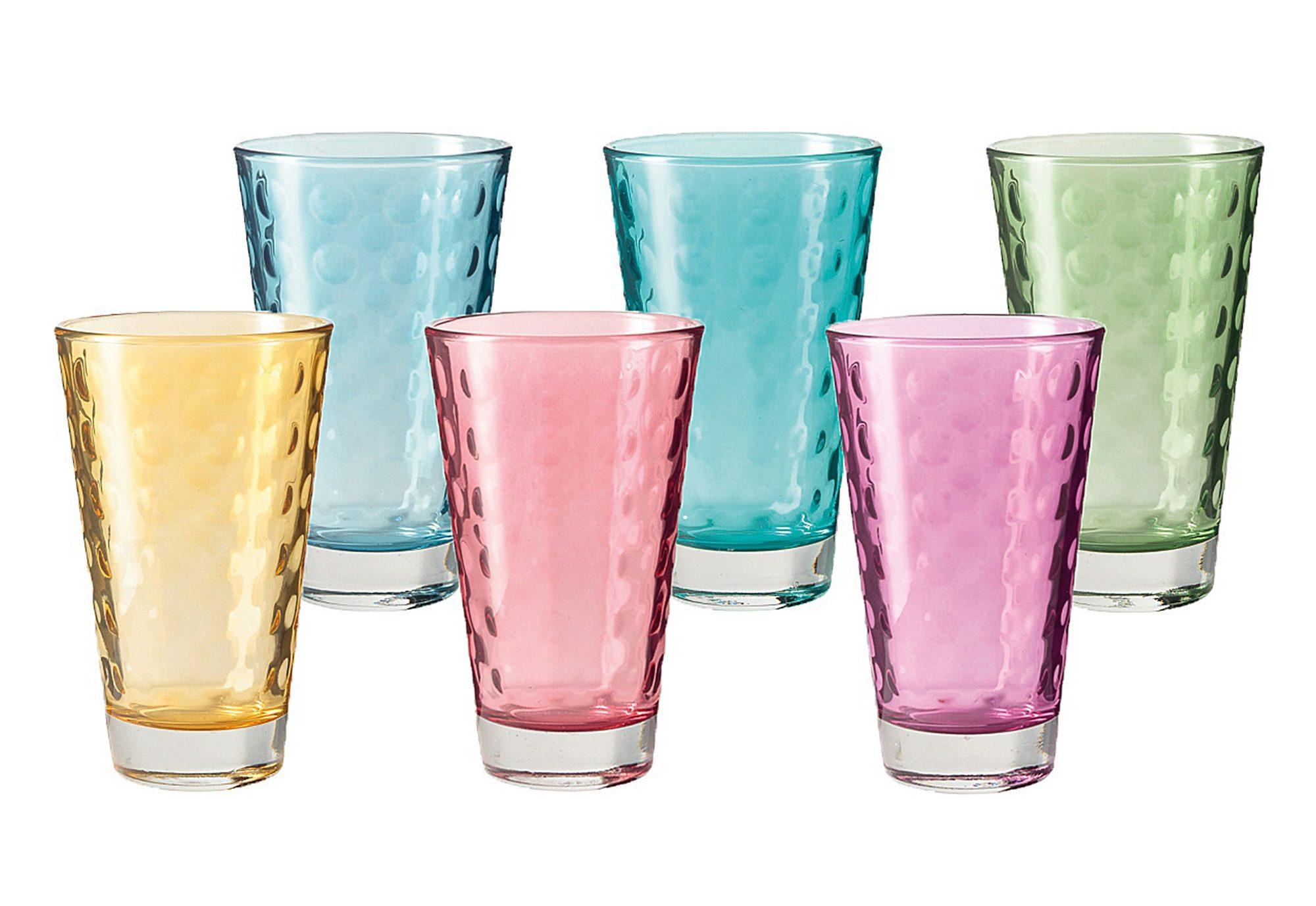 Leonardo Trinkbecher, Glas (6tlg.)