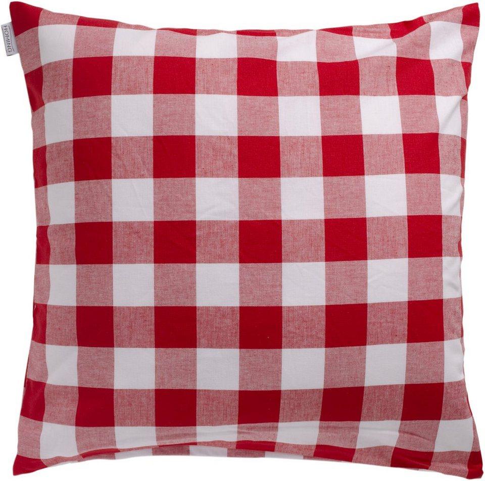 Kissen, Homing, »Rosi«, gefüllt (1er Pack) in red
