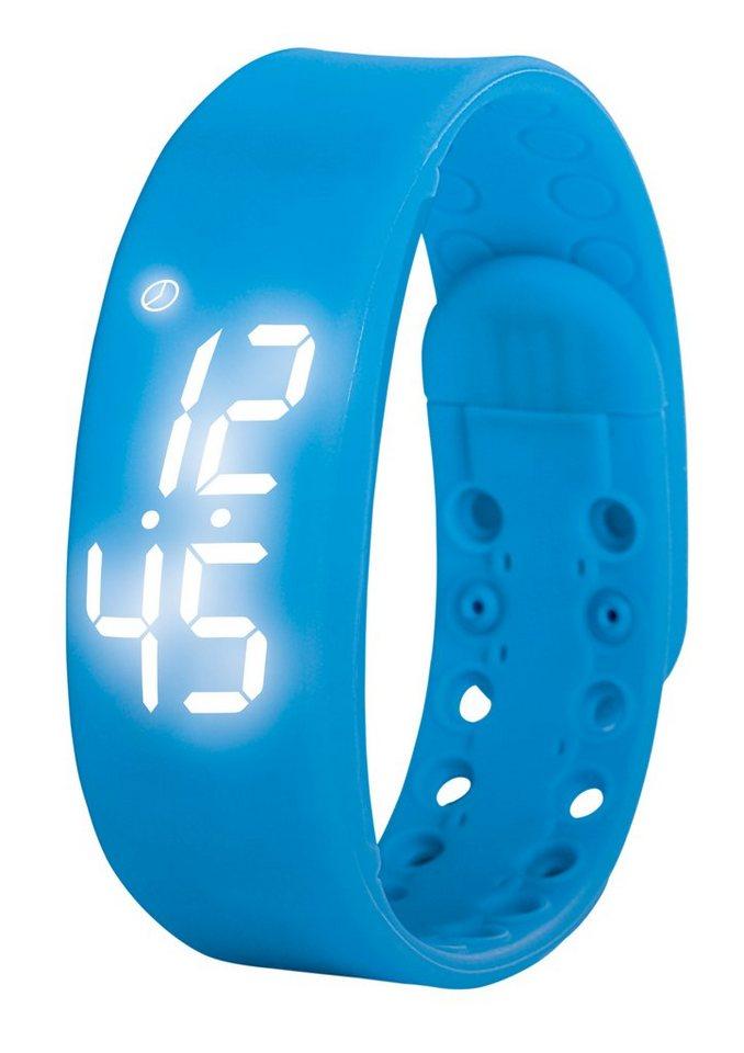 VITALmaxx LED-Fitness-Armband blau in blau