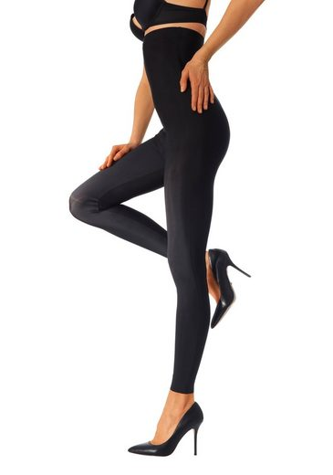 Bauchweg Schwarz Waist 1x High Lascana leggings zqVSUMp