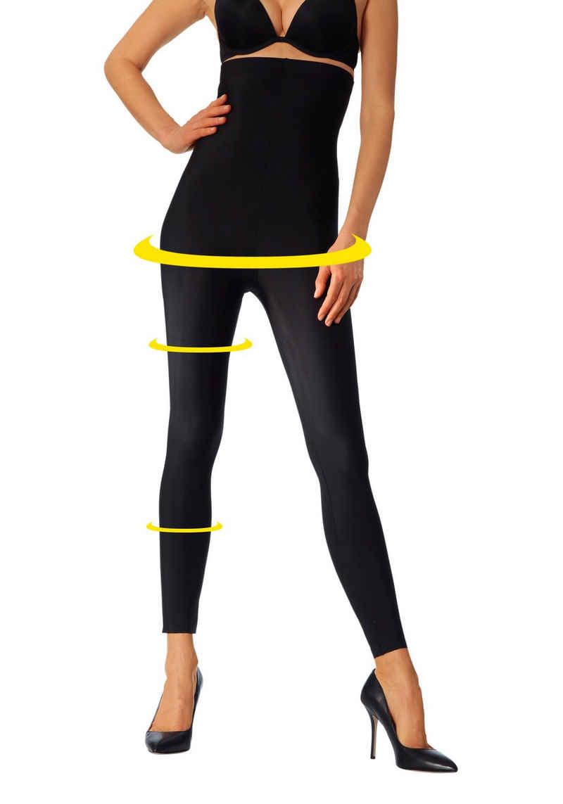 LASCANA Highwaist Leggings mit leichtem Shaping Effekt