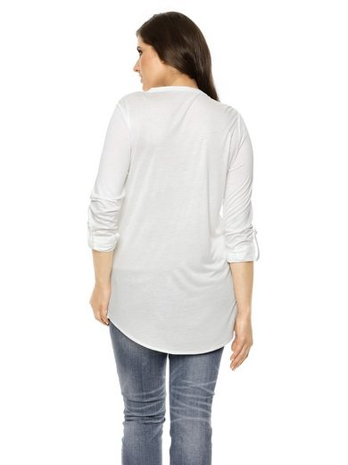 B.C. BEST CONNECTIONS by Heine Shirtbluse mit abgerundetem Saum