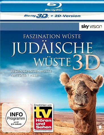 Blu-ray »Faszination Wüste: Judäische Wüste (Blu-ray 3D)«