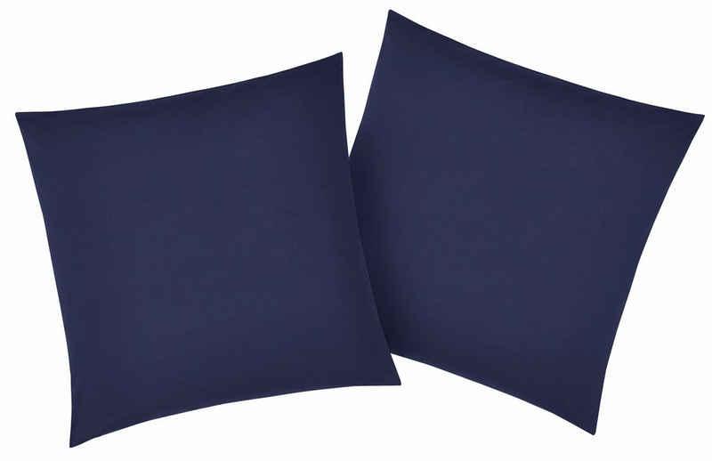 Kissenbezug »Luisa«, my home (2 Stück), mit leichtem Glanzeffekt
