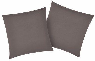 Kissenbezüge »Luisa«, my home, mit leichtem Glanzeffekt (2 Stück)