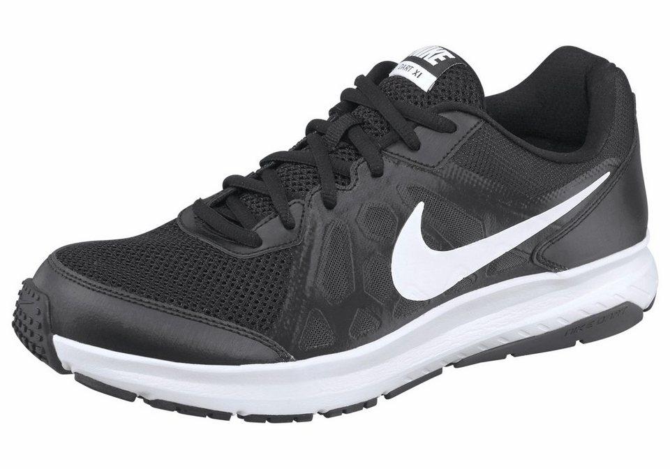 Nike Dart 11 Laufschuh in Schwarz-Weiß