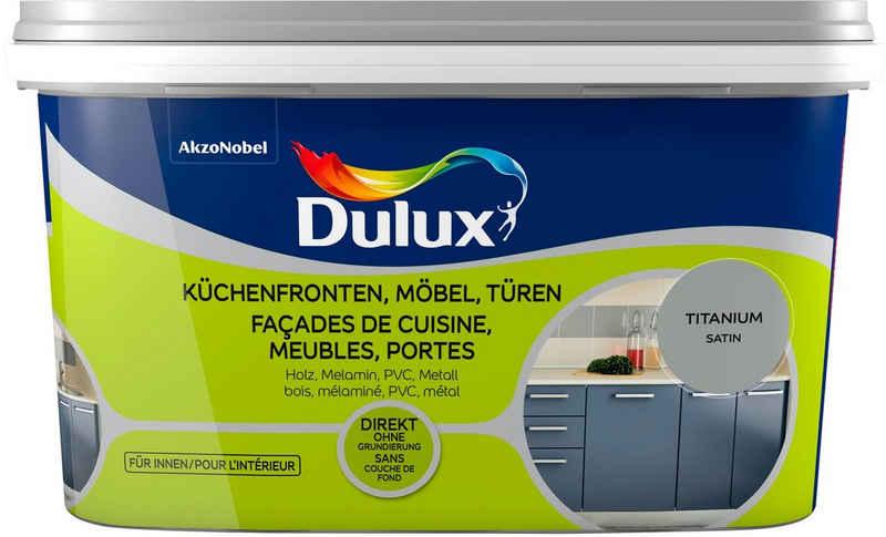 Dulux Holzlack »Fresh Up«, für Küchen, Möbel und Türen, titanium, 2 l