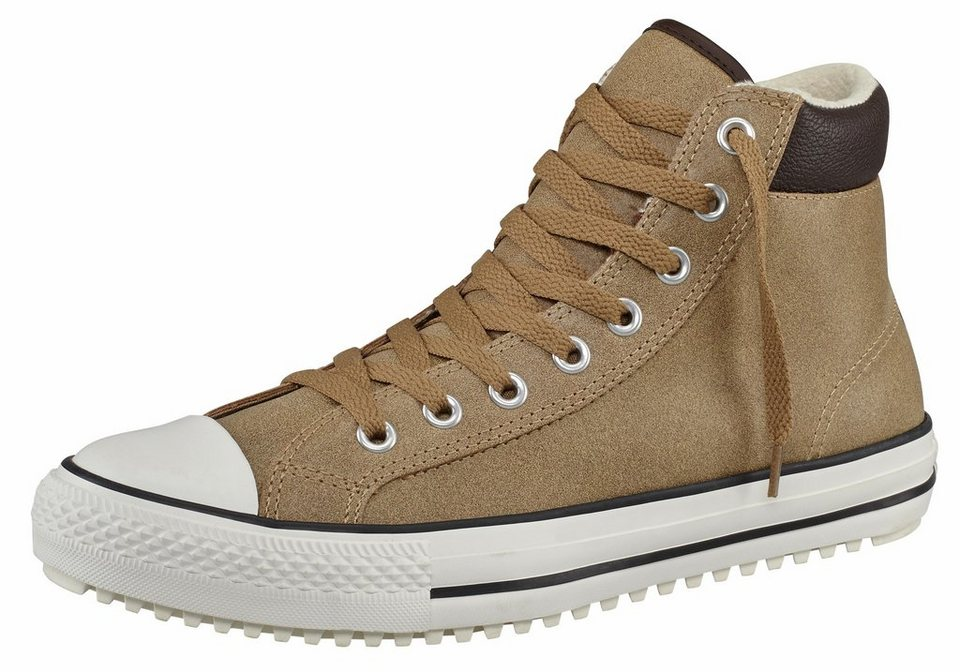 Converse All Star CTAS Boot 2.0 Leather Sneaker in Sand