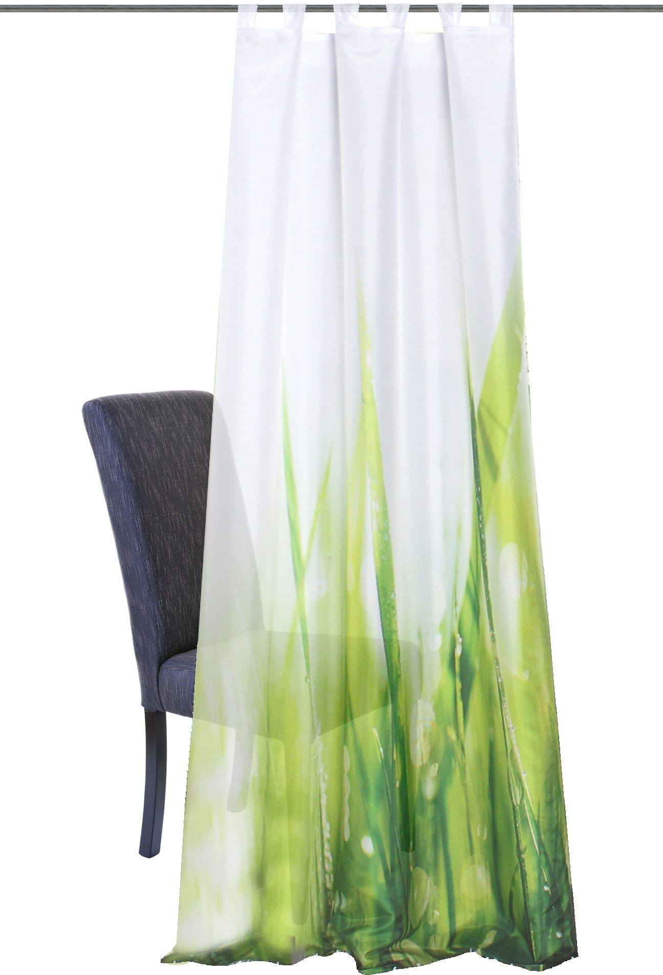 Vorhang, Home Wohnideen, »PLYMOUTH«, mit Schlaufen (1 Stück)