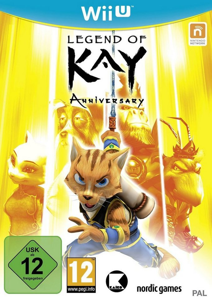 Nordic Games Legend of Kay Anniversary Edition »(WiiU)«