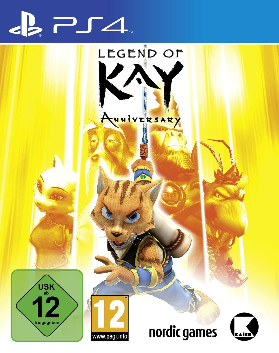 Nordic Games Legend of Kay Anniversary Edition »PS4«