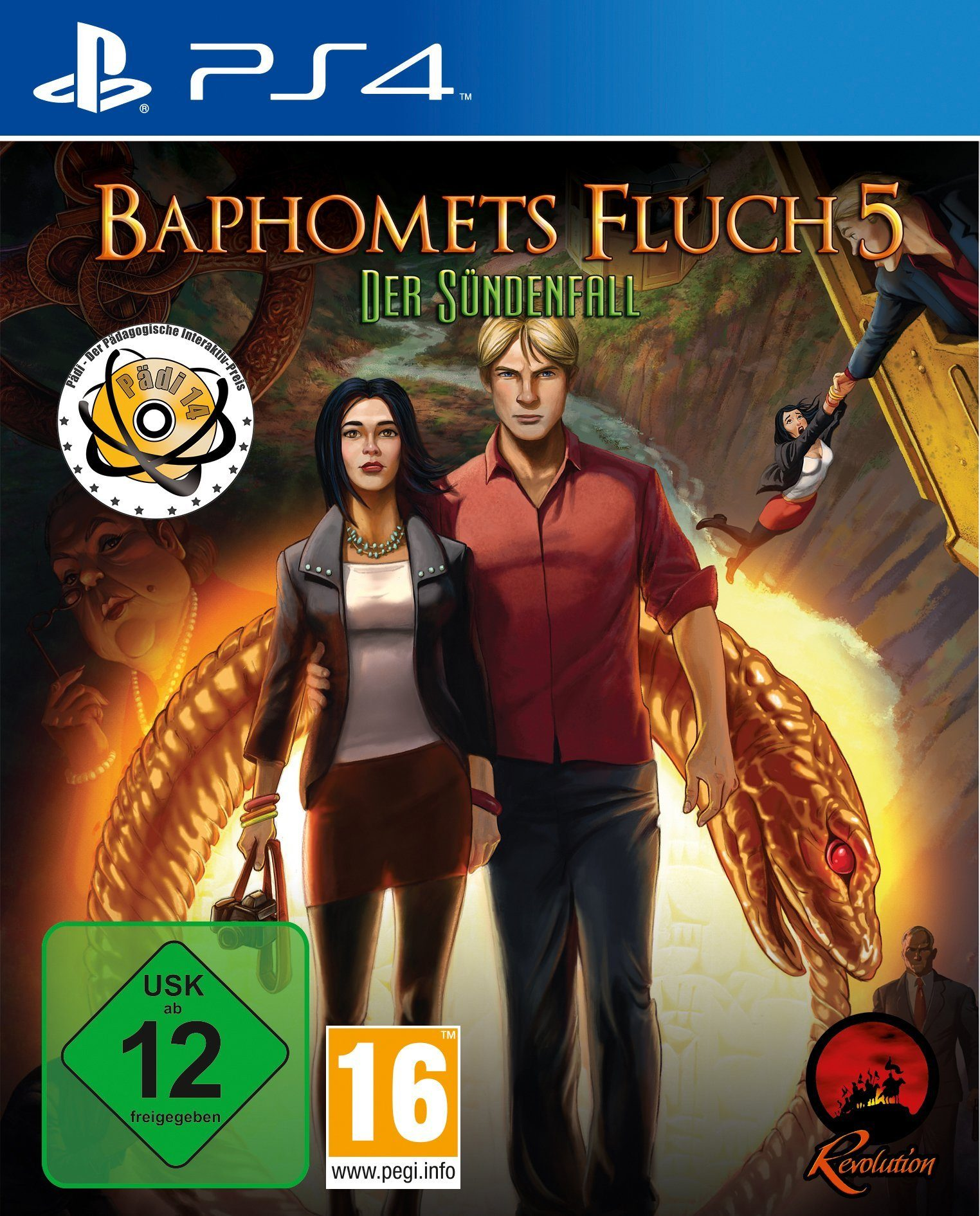 Koch Media Baphomets Fluch 5 Premium Edition »PS4«