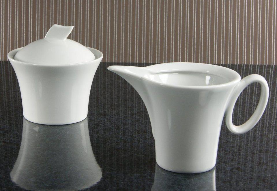 milch zucker set porzellan wing 2 tlg kaufen otto. Black Bedroom Furniture Sets. Home Design Ideas