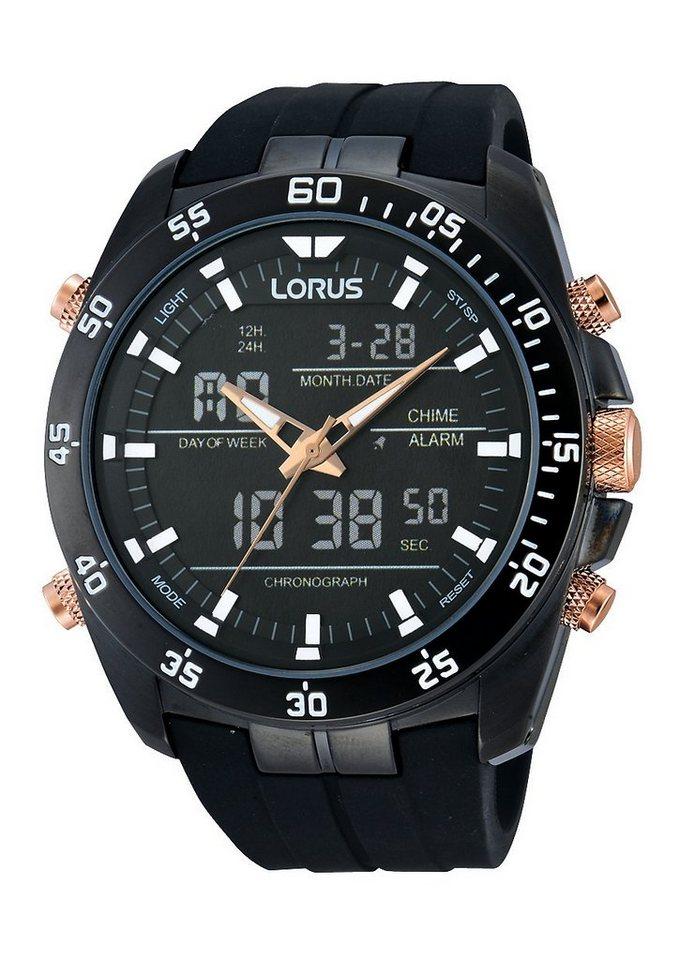 LORUS Chronograph »RW615AX9« Aus dem Hause Seiko in schwarz