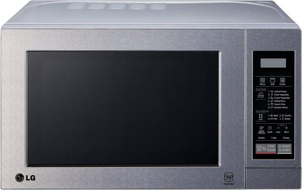 LG Mikrowelle MH 6044 V, mit Quarz-Grill, 20 Liter Garraum, 700 Watt in Edelstahlfront