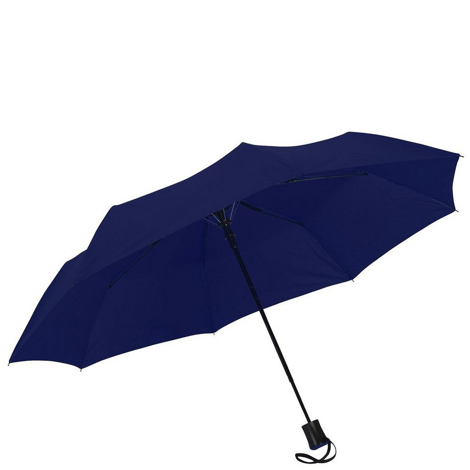 Happy Rain Flash Mini AC Taschenschirm 30 cm in dunkelblau