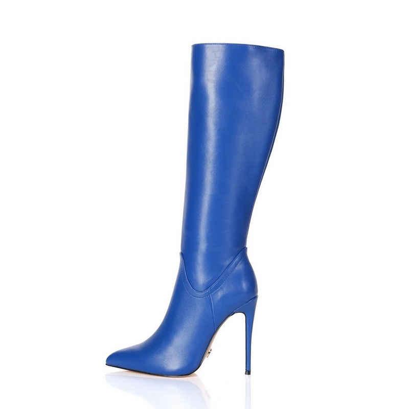 Giaro »Giaro Mila Blau Blue Matte Stiefel« High-Heel-Stiefel Vegan