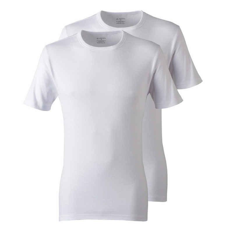 Jockey Unterhemd »2er Pack Modern Classic« (2 Stück), T-Shirt Rundhals - Figurbetonte Passform, Formstabil auch nach häufigen Waschen, 100% Baumwolle