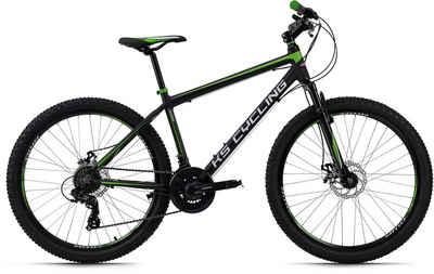 KS Cycling Mountainbike »Xceed«, 21 Gang Shimano Tourney Schaltwerk, Kettenschaltung