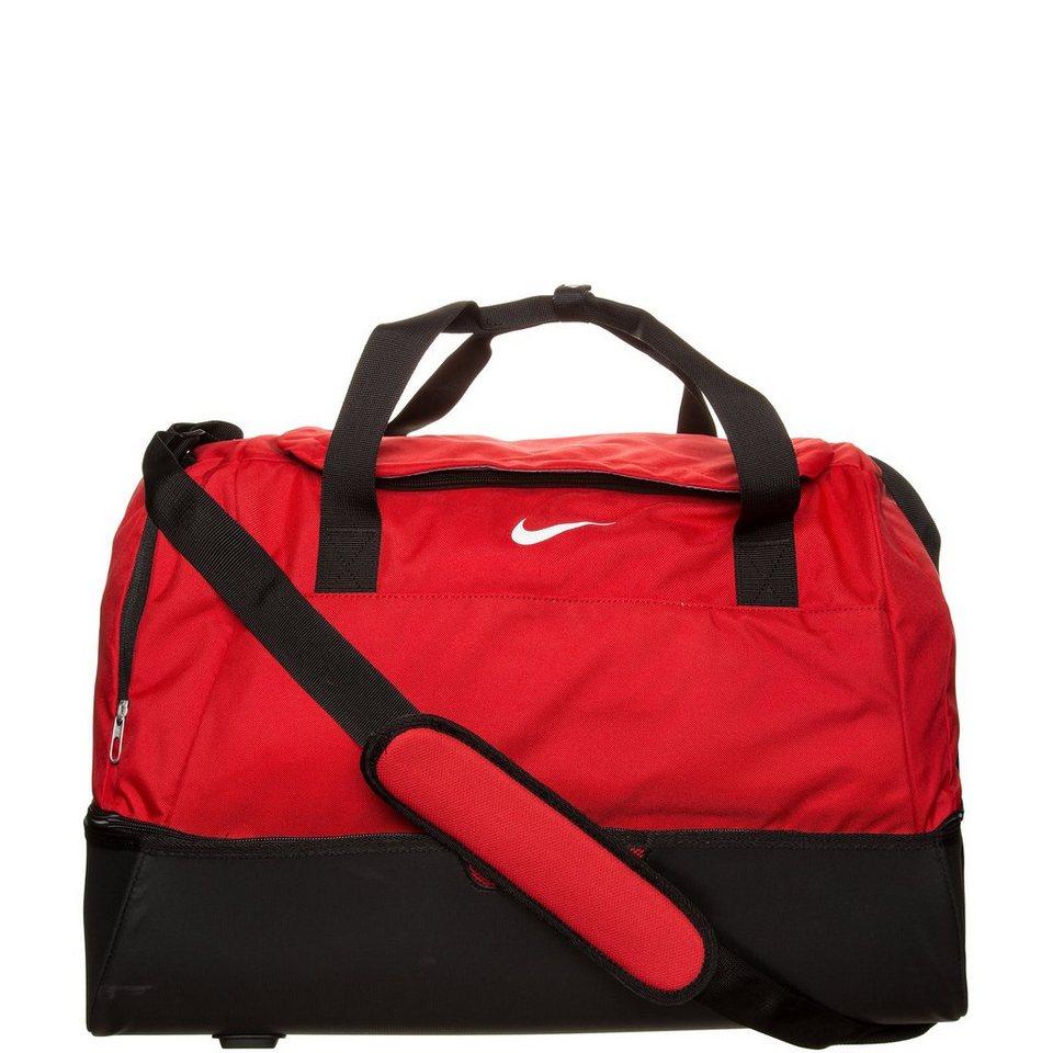 NIKE Club Team Hardcase Sporttasche Large in rot / schwarz