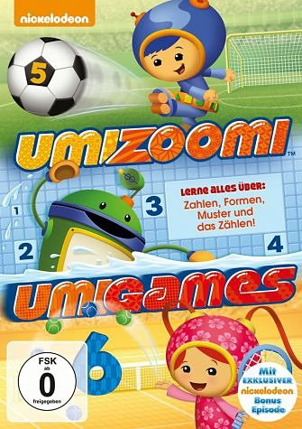 DVD »Team Umizoomi - Umigames«
