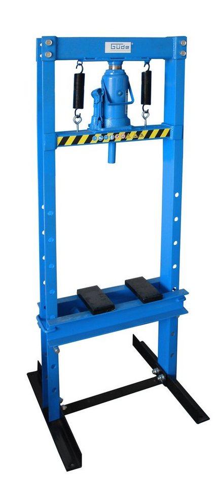 Güde Werkstattpresse »WP 12T« in blau