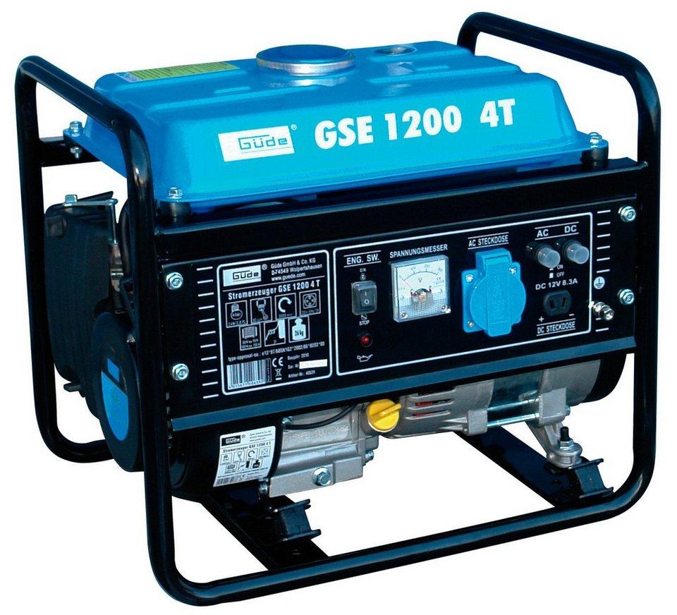 Güde Stromerzeuger »GSE 1200 4T« in blau