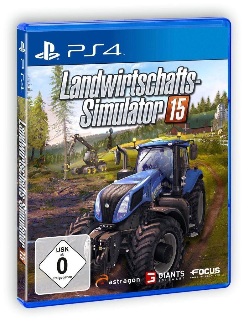 astragon Playstation 4 - Spiel »Landwirtschafts-Simulator 15«