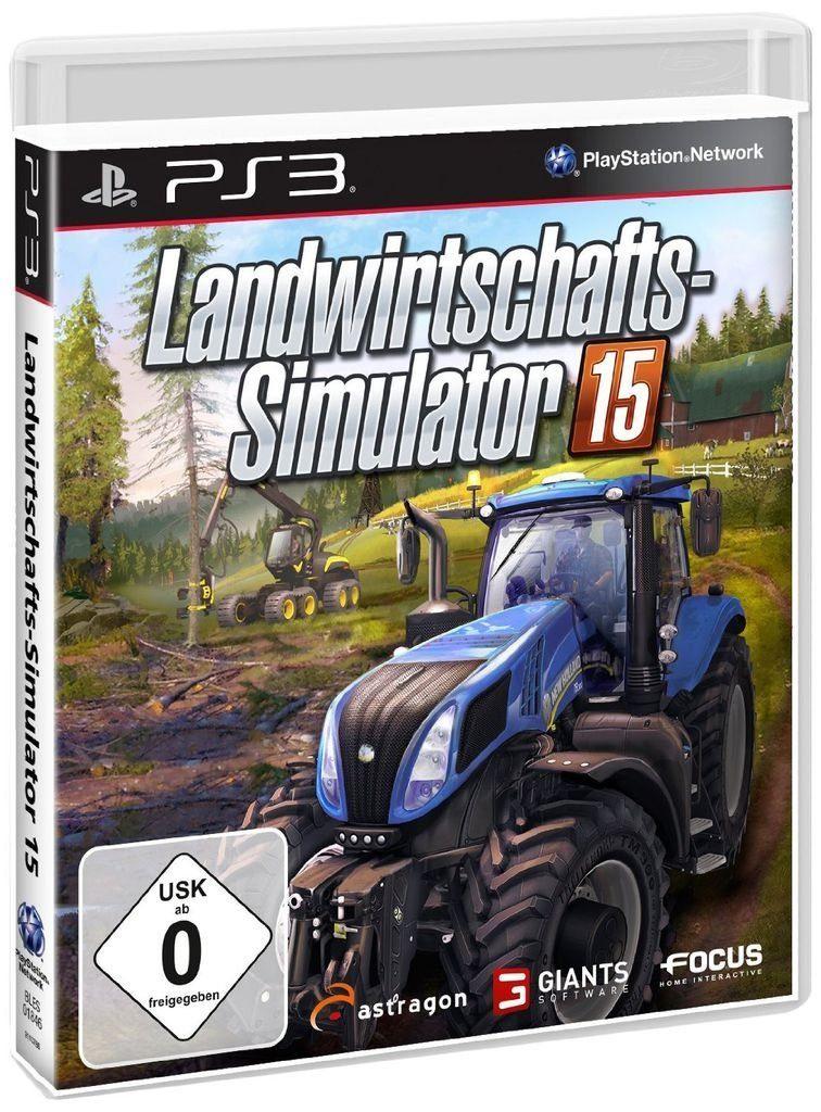 astragon Playstation 3 - Spiel »Landwirtschafts-Simulator 15«