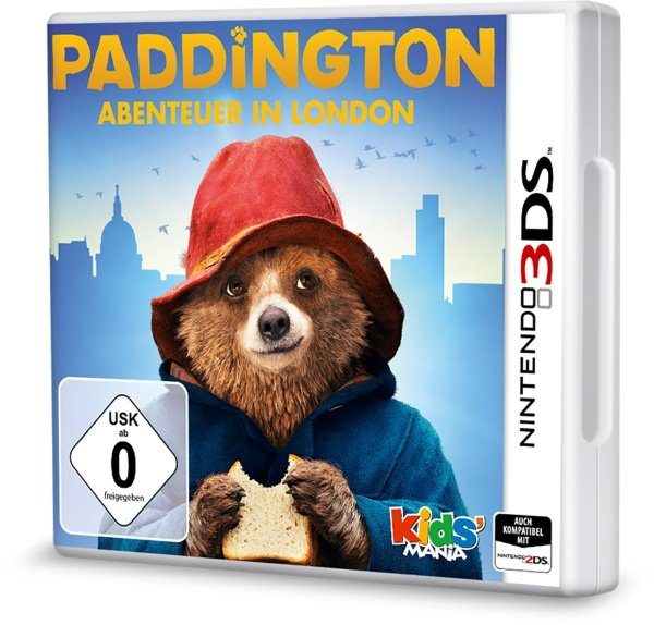 Koch Media Nintendo 3DS - Spiel »Paddington: Abenteuer in London«