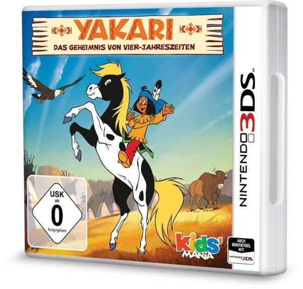 Koch Media Nintendo 3DS - Spiel »Yakari: Das Geheimnis von Vier-Jahreszeiten«