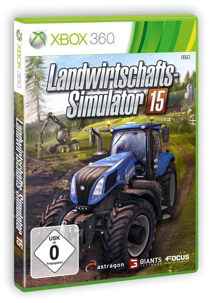 astragon XBOX 360 - Spiel »Landwirtschafts-Simulator 15«