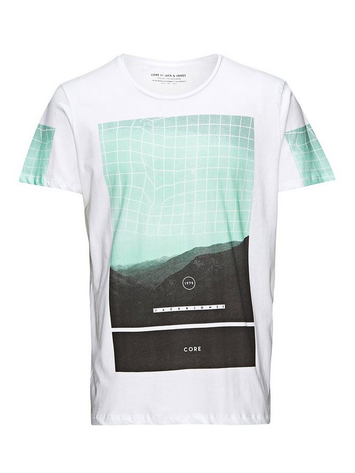 Jack & Jones Oversize-Passform T-Shirt in White