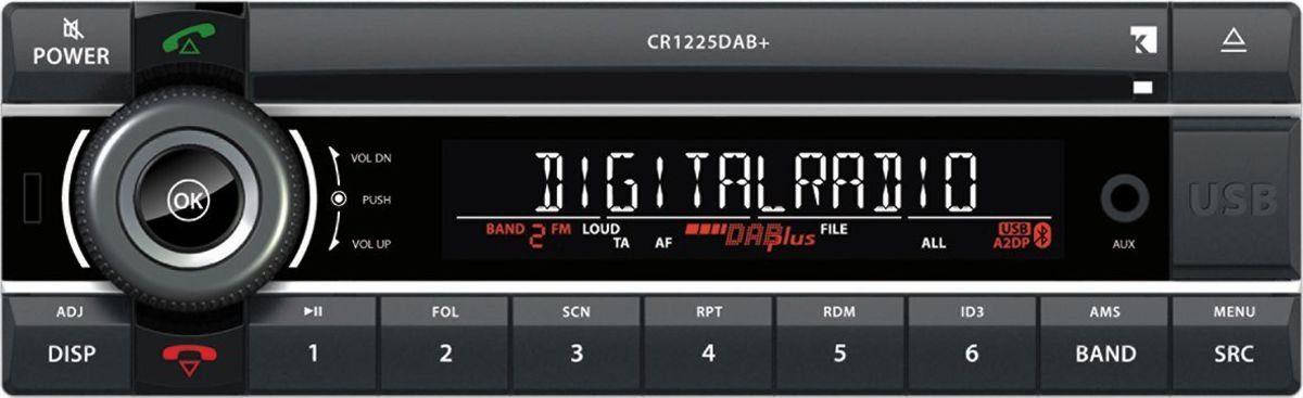 Axion Autoradio »CR 1225 DAB+ (CD/SD/USB/MP3/BT/DAB+)«
