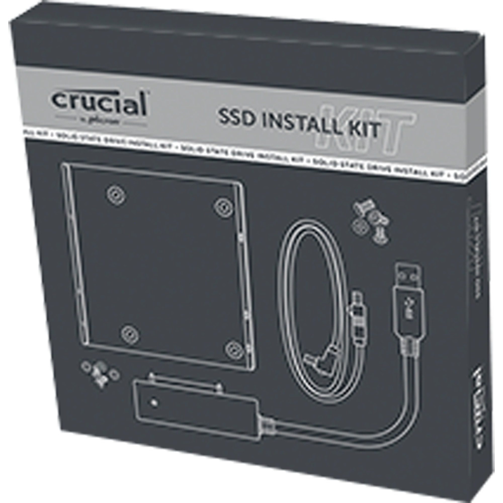 Crucial Adapter »Crucial SSD Install Kit«