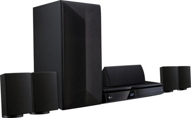 lg lha725 5 1 heimkinosystem 3d blu ray player w. Black Bedroom Furniture Sets. Home Design Ideas