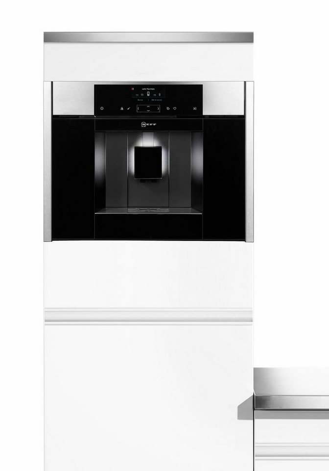 neff einbau kaffeevollautomaten c15ks61n0 kaufen otto. Black Bedroom Furniture Sets. Home Design Ideas