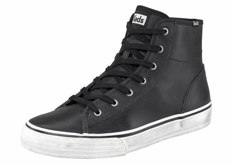 Keds Double Up Hi Sneaker in Schwarz