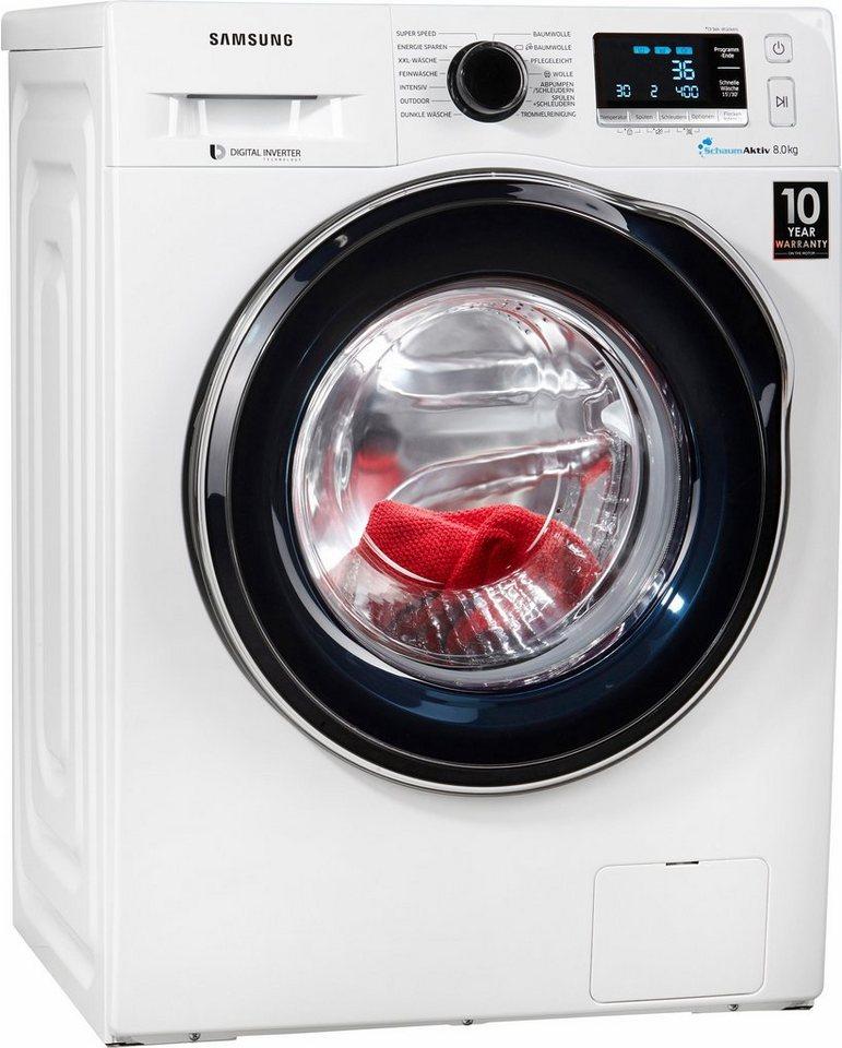 Samsung Waschmaschine WW6000 WW80J6400CW/EG, 8 kg, 1400 U/Min