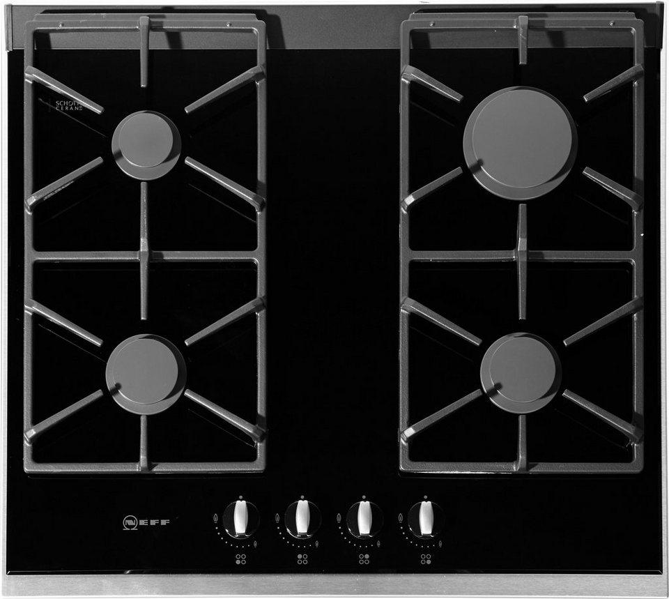 Neff Autarkes Gas-Glaskeramik-Kochfeld TS 6666 N / T66S66N0, mit integr. Kochstellenreglern