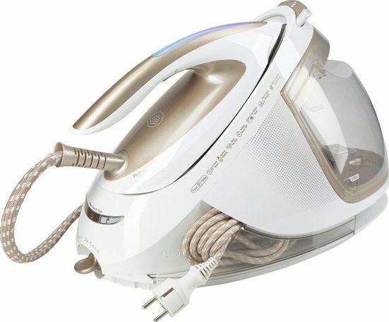 Philips Dampfbügelstation GC9640/60 PerfectCare Elite Silence, 1800 ml Wassertank, besonders gleitfähige T-IonicGlide-Bügelsohle