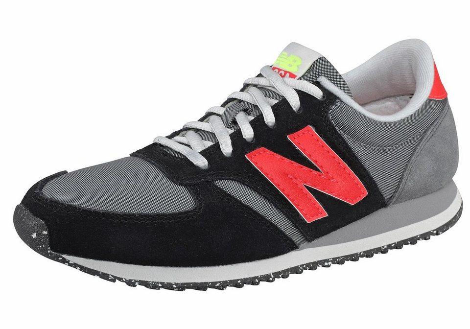 New Balance WL420 Core+ Sneaker in Schwarz-Grau-Neon-Orange