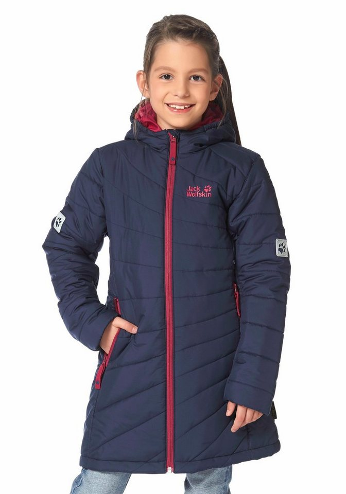 Jack Wolfskin ICEGUARD MICROGUARD COAT Funktionsmantel in Marine-Pink