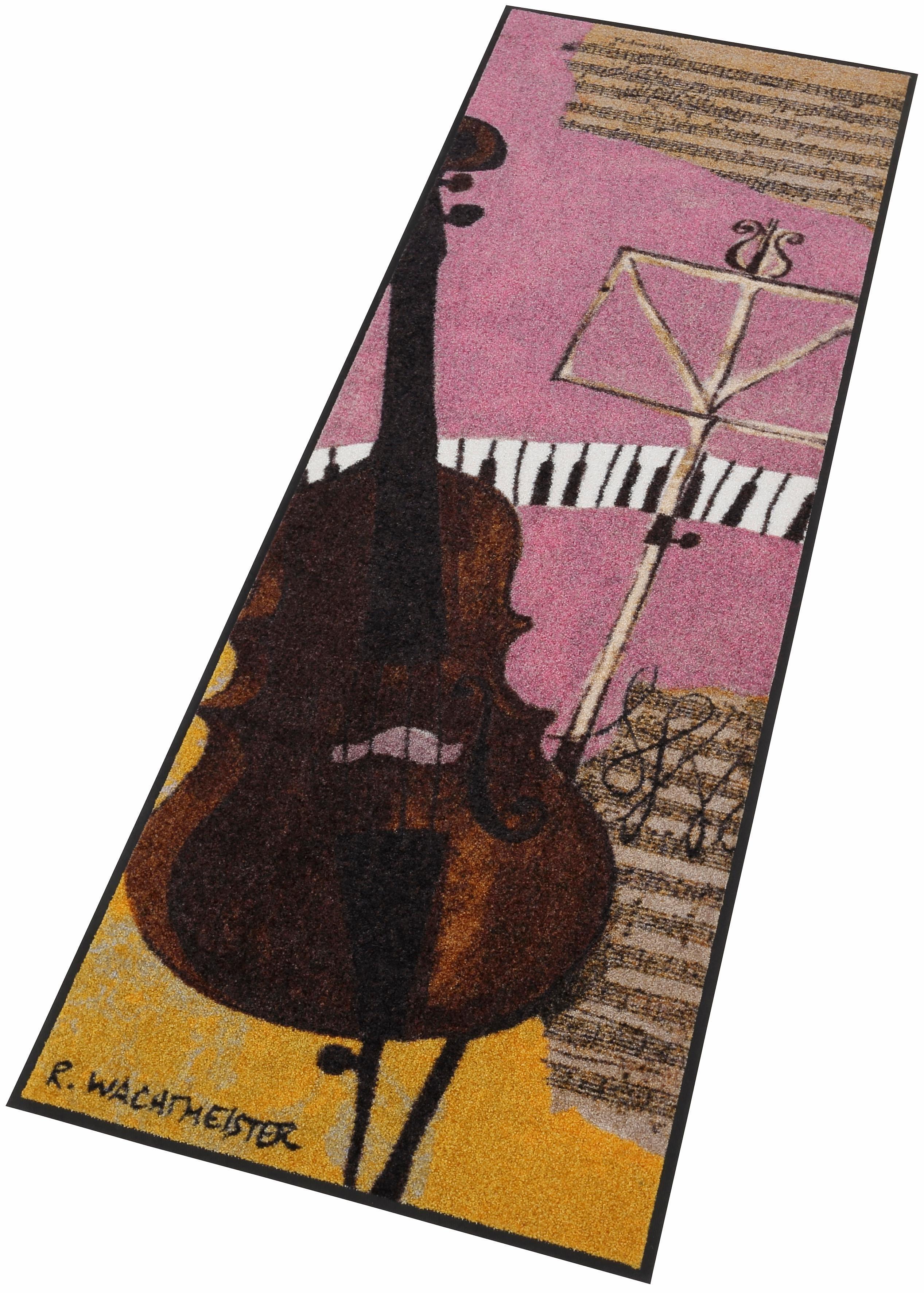 Läufer »Violincello«, waschbar, In- und Outdoor