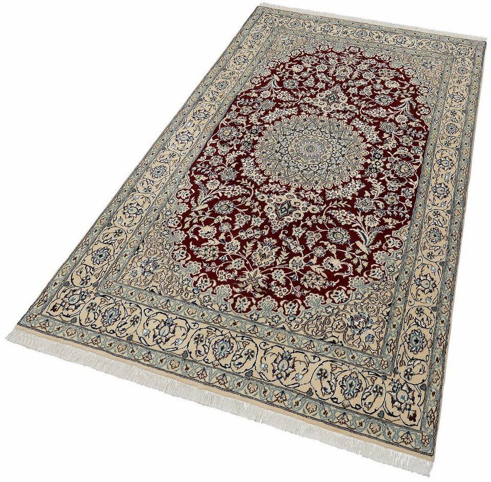 Orientteppich  Orient-Teppich »Nain Scherkat Royal1«, handgeknüpft, 450.000 ...